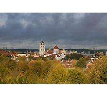 Vilnius. Old town. My city. Photographic Print