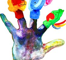 The Creative Life Hand by Marie D. Tiger Mikkonen