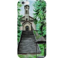 Pilgrimage Church of the Visitation in Kocléřov iPhone Case/Skin