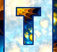 Fractal – Alphabet – T is for Thoughts by Anastasiya Malakhova