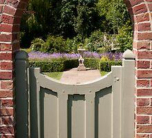 - Through the garden gate by Christopher Cullen