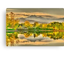 Golden Moments, Gilded Dreams Canvas Print