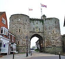 Medieval Landgate, Rye by David Fowler