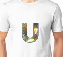 Fractal – Alphabet –  U is for Unity Unisex T-Shirt