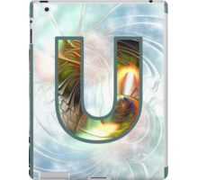 Fractal – Alphabet –  U is for Unity iPad Case/Skin
