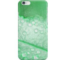 Green Leaf and Raindrops, Iphone Case iPhone Case/Skin