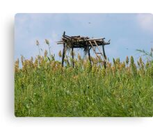 Amongst the Greenery Canvas Print