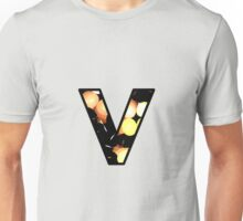 Fractal – Alphabet –  V is for Visual Perception Unisex T-Shirt