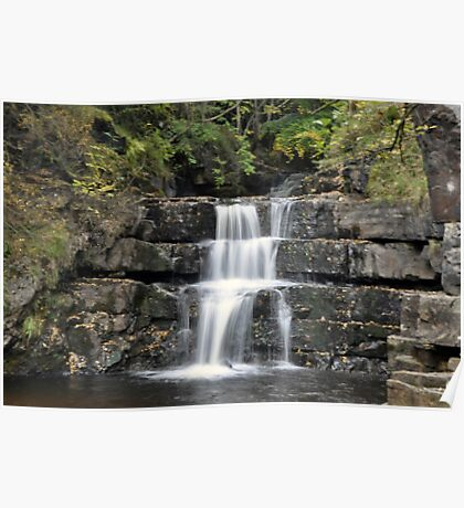 Waterfall - Bowlees Beck Poster
