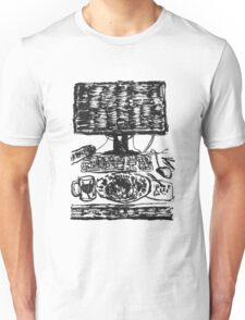 workplace ink drawing Unisex T-Shirt