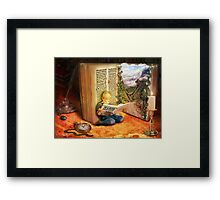 The Book of Magic Framed Print