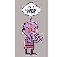 Gluten-free Zombie Photographic Print