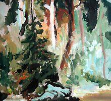 Forest Study by Mikko Tyllinen