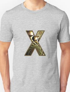 Fractal – Alphabet –  X is for X-Ray T-Shirt