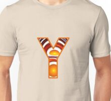 Fractal – Alphabet –  Y is for Yolk Unisex T-Shirt