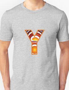 Fractal – Alphabet –  Y is for Yolk T-Shirt