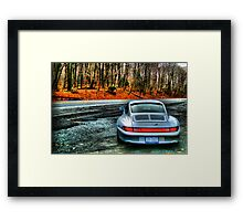 Porsche 993 C4S HDR Framed Print