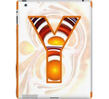 Fractal – Alphabet –  Y is for Yolk iPad Case/Skin