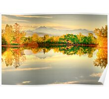 Reflections On Golden Ponds Poster
