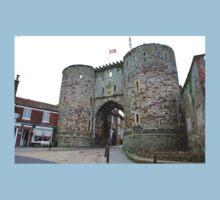 The Landgate at Rye, England One Piece - Short Sleeve