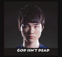 SK Telecom T1 K Faker God isn't dead shirt by BerryRare