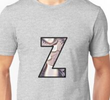 Fractal – Alphabet –  Z is for Zebra Colors Unisex T-Shirt