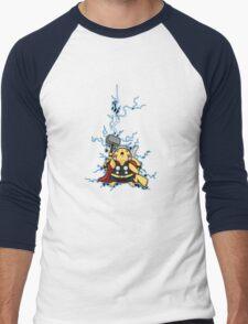 pikathor Men's Baseball ¾ T-Shirt