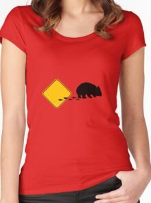 Wombat Women's Fitted Scoop T-Shirt