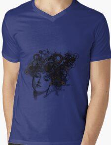 Rusty Lady Mens V-Neck T-Shirt