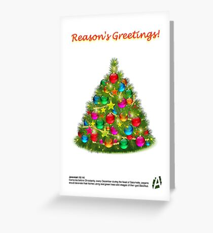 AI Card 1 Greeting Card
