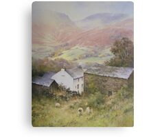 Above Grasmere from Allan Bank, Cumbria Canvas Print