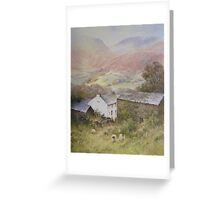 Above Grasmere from Allan Bank, Cumbria Greeting Card