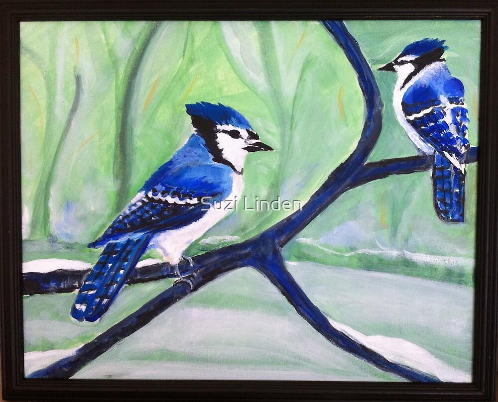 Blue Jays by Suzi Linden