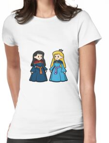 Duchess of Erat and the First Queen of Riva Womens Fitted T-Shirt
