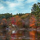 Fall in Wakefield, Quebec by Jim Cumming