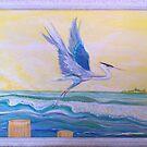 Heron by Suzi Linden