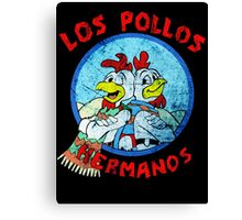 Los Pollos Hermanos Wink (retro) Canvas Print