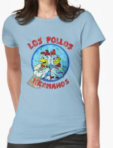 Los Pollos Hermanos Wink (retro) Womens Fitted T-Shirt