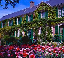 Chez Claude Monet, Giverny by Alex Cassels