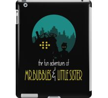 THE FUN ADVENTURES OF MR. B & LITTLE SISTER (BATMAN THE ANIMATED SERIES PARODY) iPad Case/Skin