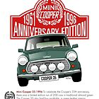 Mini Cooper 35 Anniversary edition 1996 by car2oonz