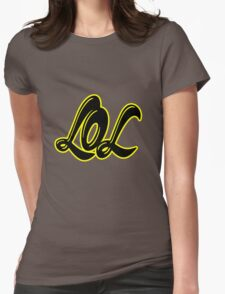 LOL H++ CLOTHING Womens Fitted T-Shirt