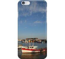 Bridlington harbour No 3 iPhone Case/Skin