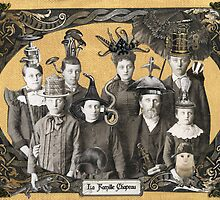 La Famille Chapeau - Portrait of an Odd Family by WinonaCookie