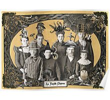 La Famille Chapeau - Portrait of an Odd Family Poster