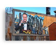 Dismaland - 'Shove' - Cameron Billboard Canvas Print