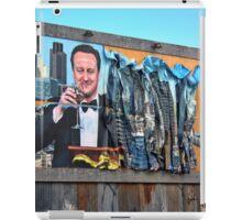 Dismaland - 'Shove' - Cameron Billboard iPad Case/Skin