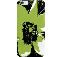 Blooming Green iPhone Case/Skin