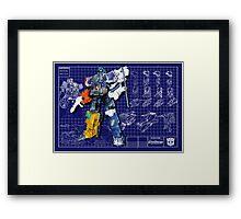Energon Optimus Prime Framed Print