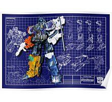 Energon Optimus Prime Poster